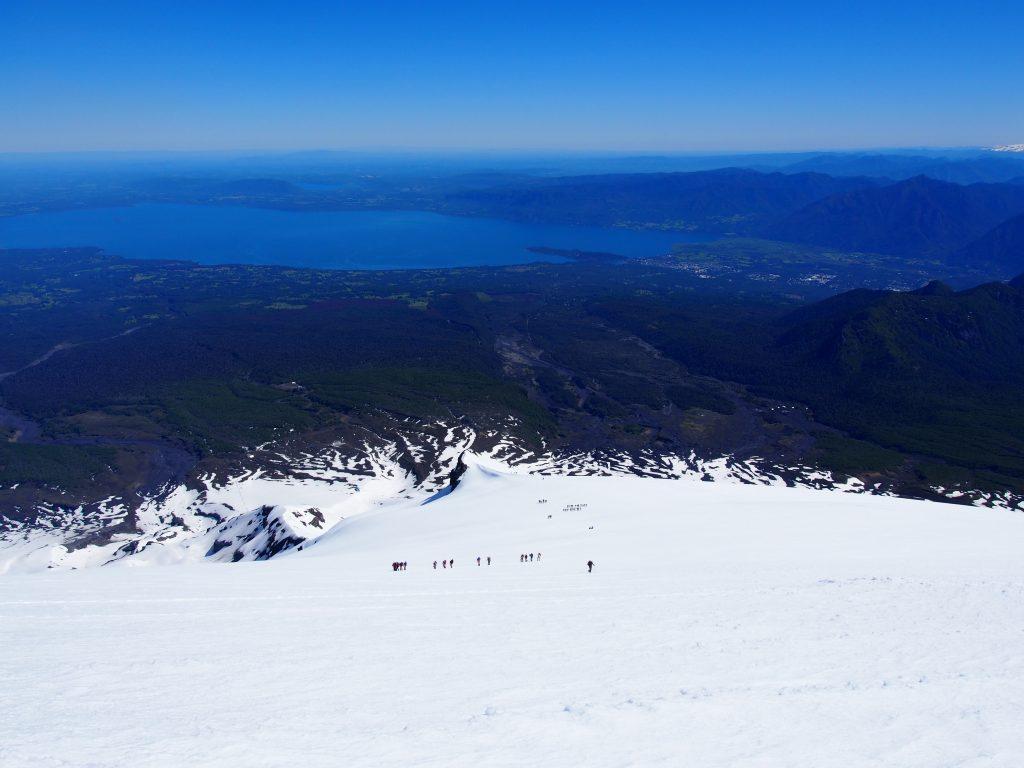 Aufstieg auf den Vulkan Villarica